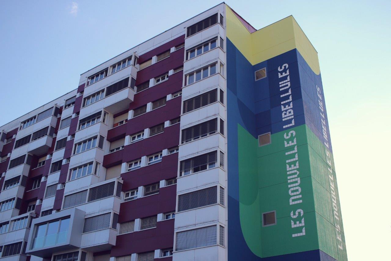 Une photo de l'immeuble des Nouvelles Libellules