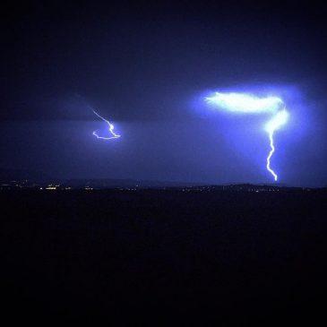 Nuit d'orage depuis Le Lignon !